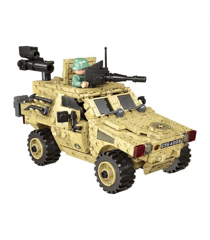 XINGBAO 06024 The Wheeled Armored Vehicle Building Bricks Set