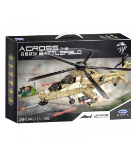 XINGBAO 06025 WZ10 Helicopter Building Bricks Set