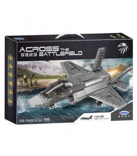 XINGBAO 06026 F35 Kampfflugzeuge Bausteine-Set