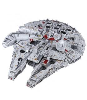 Custom Star Wars Millennium Falcon Building Bricks Toy Set 8445 Pieces