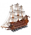 Custom Pirates of the Caribbean Flying Dutchman Building Bricks Toy Set