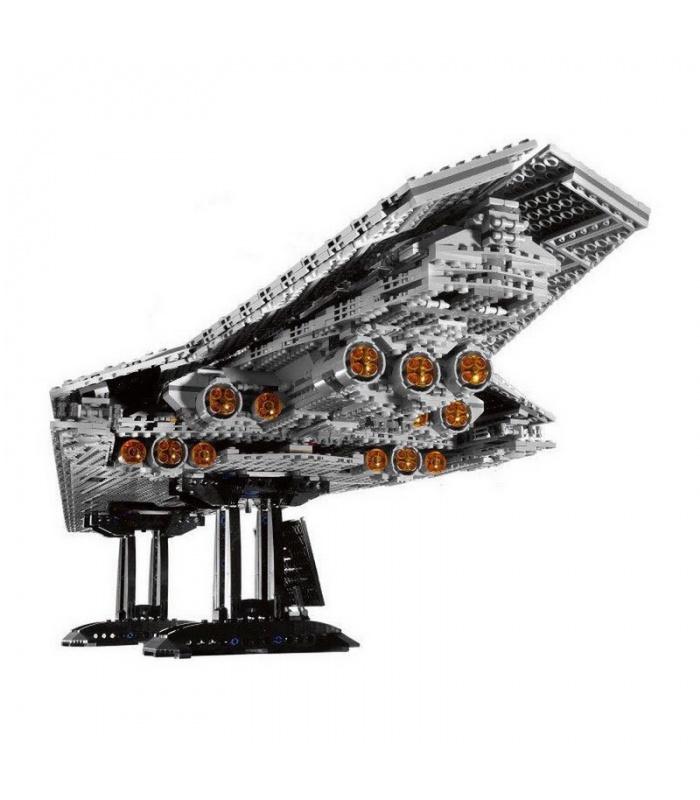 Custom Star Wars Super Star Destroyer Building Bricks Toy Set 3208 Pieces