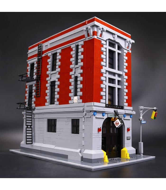 Custom Ghostbusters Firehouse Headquarters Building Bricks Set