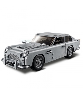 Custom James Bond Aston Martin DB5 Building Bricks Toy Set