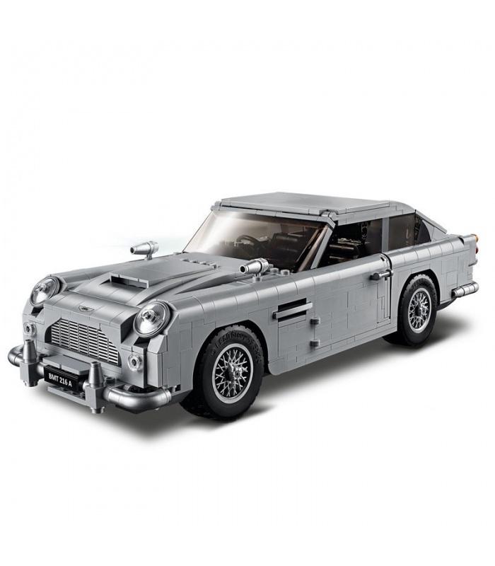 Custom James Bond Aston Martin DB5 Building Bricks Set