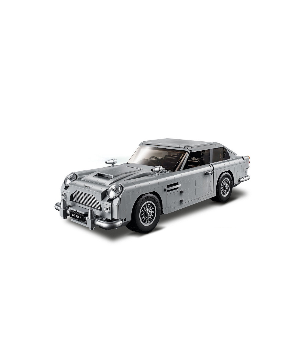 Custom James Bond Aston Martin Db5 Building Bricks Toy Set Buildingtoystore Com