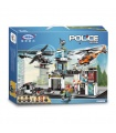 XINGBAO 10001 The Police Operational Command Station Building Bricks Toy Set