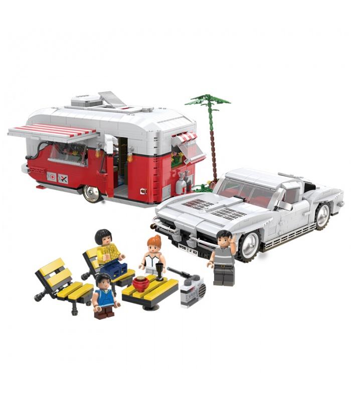 XINGBAO 08003 The MOC Camper Building Bricks Set