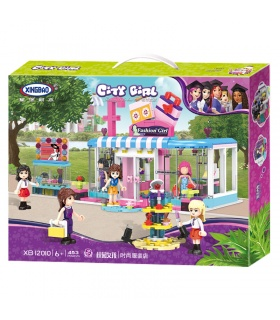 XINGBAO 12010 Campus Girls Fashion Store Building Bricks Set