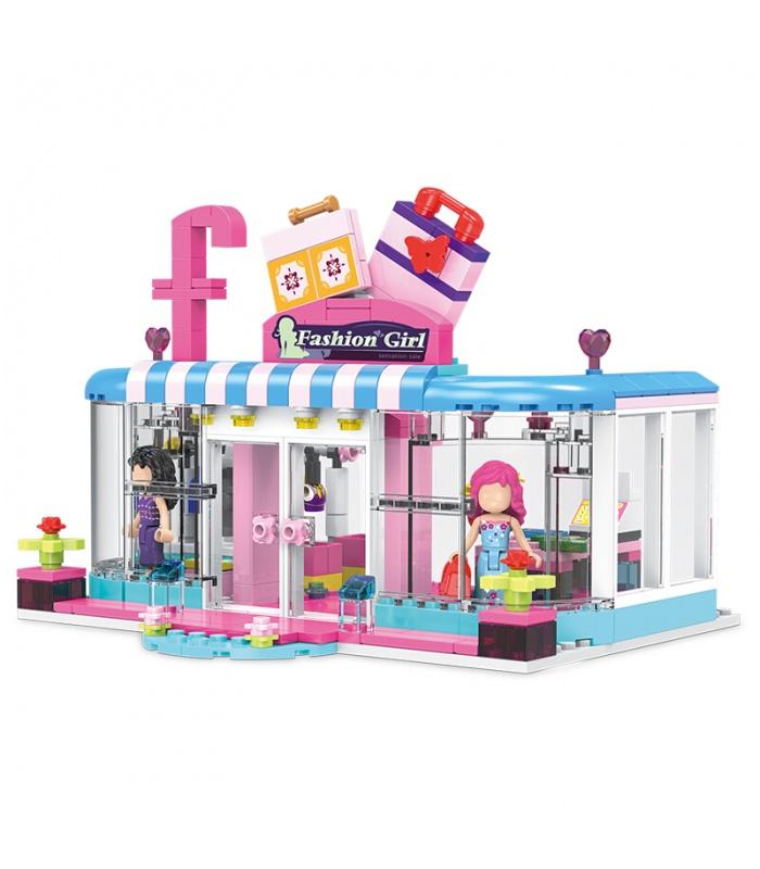 XINGBAO 12010 кампус девушки мода магазин строительного кирпича комплект