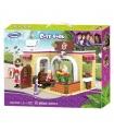 XINGBAO 12011 дом кофе время кирпич игрушка комплект