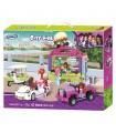 XINGBAO 12012 Schule Convenience-Store Bausteine Spielzeug-Set