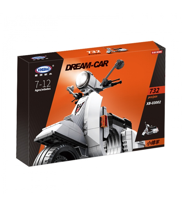 XINGBAO 03002a Vespa P200 Moto Building Bricks Set