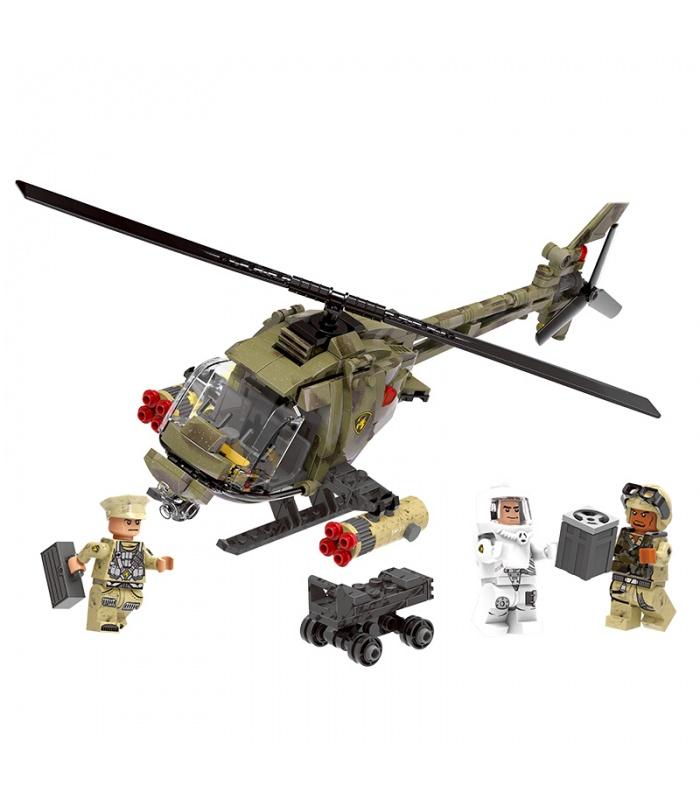 XINGBAO 06013 Light-Hawk-Hubschrauber Bausteine-Set