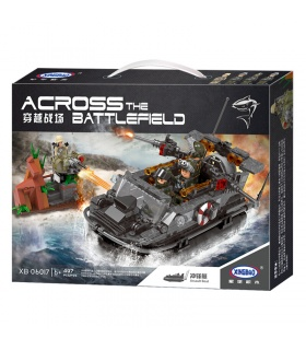 XINGBAO 06017 Assault Boat Building Bricks Set