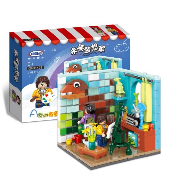 XINGBAO 01402 Futuro Soñador Edificio de Ladrillos Conjunto