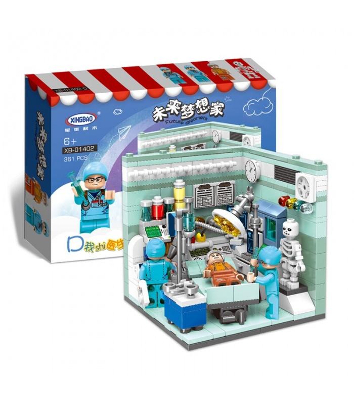 XINGBAO 01402 будущем сновидца строительного кирпича комплект