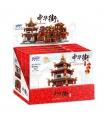 XINGBAO 01102 Zhong Hua Callejón Edificio de Ladrillos Conjunto de Juguete