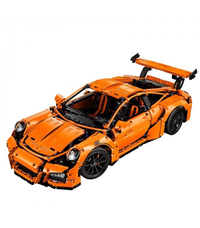 Custom Porsche 911 GT3 RS Technic Compatible Building Bricks Set