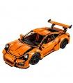 Custom Technology Porsche 911 GT3 RS Compatible Building Bricks Toy Set