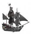 LEPIN 16006 Piratas del Caribe La Perla Negra Edificio de Ladrillos Conjunto