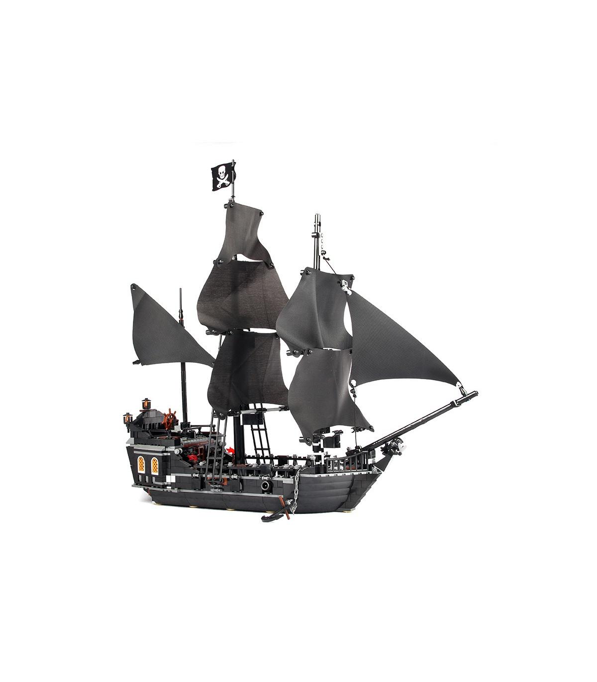 Benutzerdefinierte Piraten der Karibik-Die Black Pearl Bausteine Spielzeug-Set 804 Stück