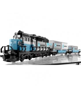 Benutzerdefinierte Maersk Zug-Kompatible Bausteine Spielzeug-Set 1234 Stück