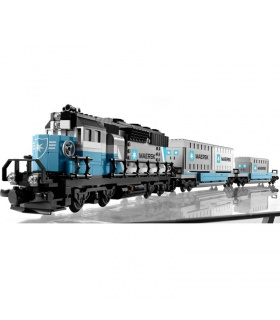 Custom Maersk Train Compatible Building Bricks Toy Set 1234 Pieces