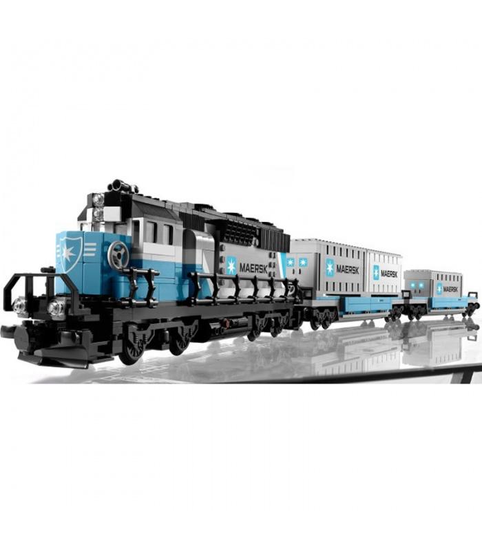 LEPIN21006Maersk電車のブセット