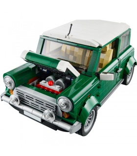Custom MINI Cooper MK VII Building Bricks Set 1108 Pieces