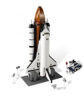 Custom Shuttle Expedition Building Bricks Set 1230 Pieces