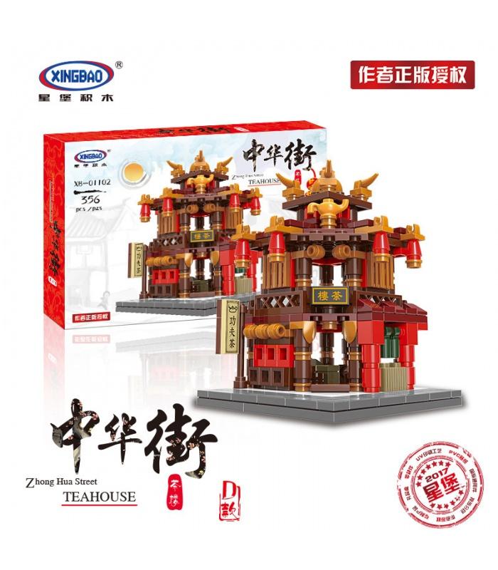 XINGBAO 01102 Zhong Hua Callejón Edificio de Ladrillos Conjunto