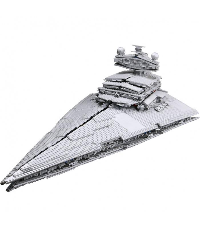 Personalizado De Star Wars Imperial Star Destroyer Edificio De Ladrillos Conjunto De Juguete