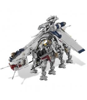 Custom-Republic Dropship mit AT-OT Walker Bausteine Spielzeug-Set 1788 Stück