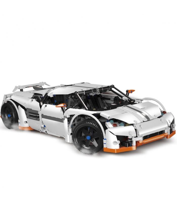 Пользовательские MOC хищник серии Technic суперавтомобиль совместимы строительного кирпича комплект