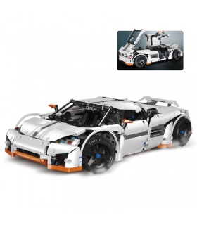 Custom MOC Predator Technic Supercar Compatible Building Bricks Set