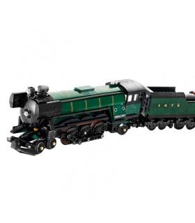Custom Emerald Night Train Compatible Building Bricks Set 1085 Pieces