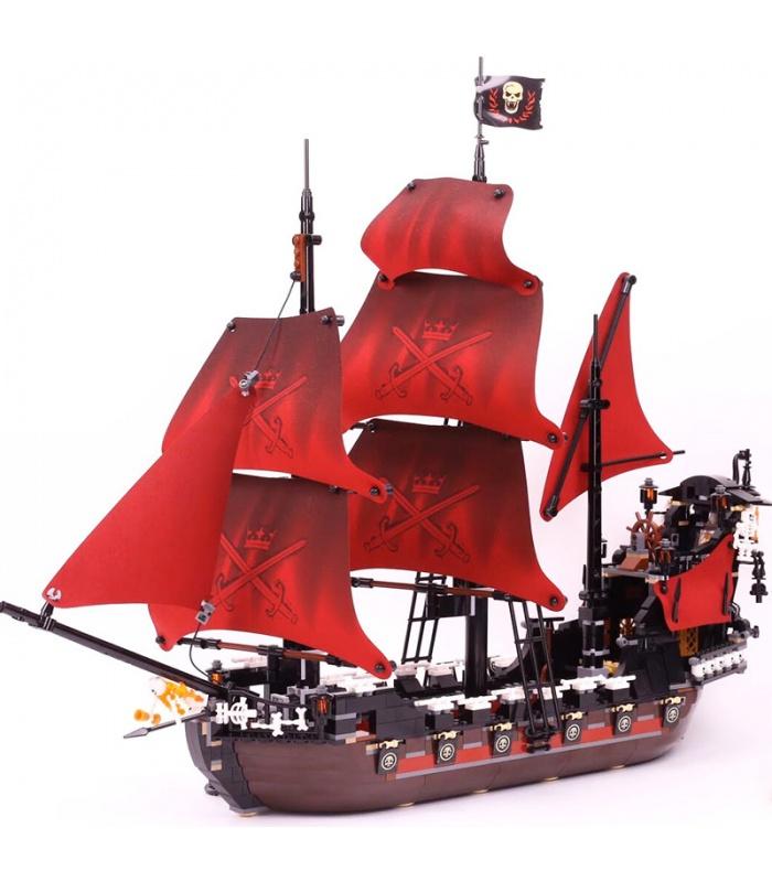 Custom Queen Anne's Revenge Pirates of the Caribbean Building Bricks Toy Set