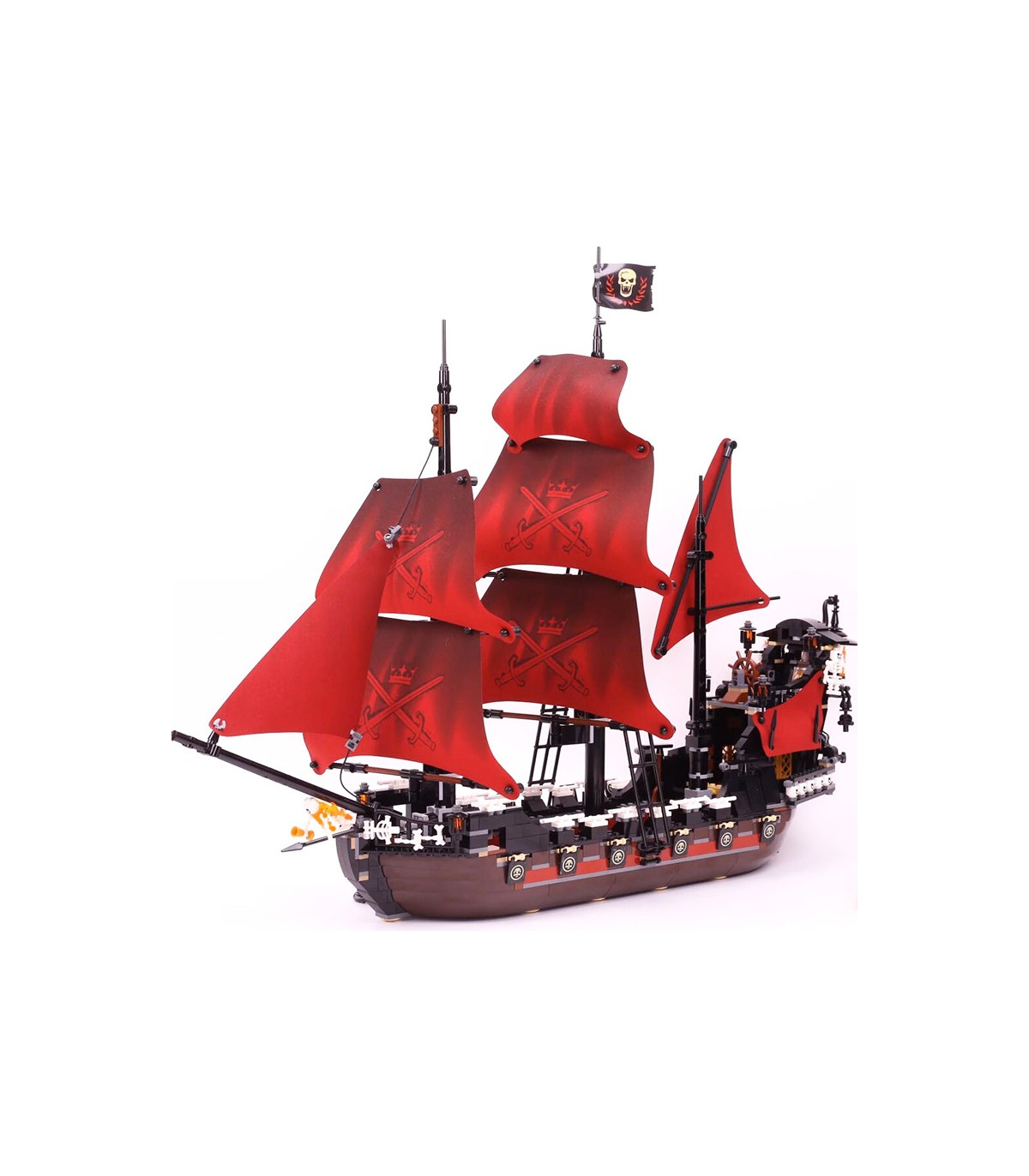 Queen Anne/'s Revenge Building Blocks Pirates of the Caribbean Model Set Children