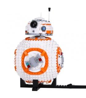 Personalizado de Star Wars BB-8 El Último Jedi Compatible con los Ladrillos del Edificio Conjunto de Juguete