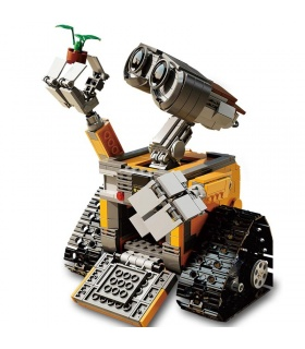 Benutzerdefiniertes WALL E Ideas Series Kompatibles Baustein-Spielzeugset