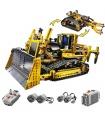 Custom Technology Motorized Bulldozer Compatible Building Bricks Toy Set 1384 Pieces