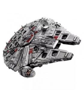 Personalizado de Star Wars UCS Halcón milenario Compatible Edificio de Ladrillos de Juguete Set 5265 Piezas