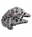 Пользовательские Звездные войны Сокол Тысячелетия ПСК совместимы строительного кирпича комплект 5265 шт.