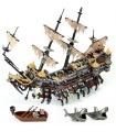 На заказ Пираты Карибского моря, Сайлент Мария совместимы строительного кирпича комплект 2344 шт.