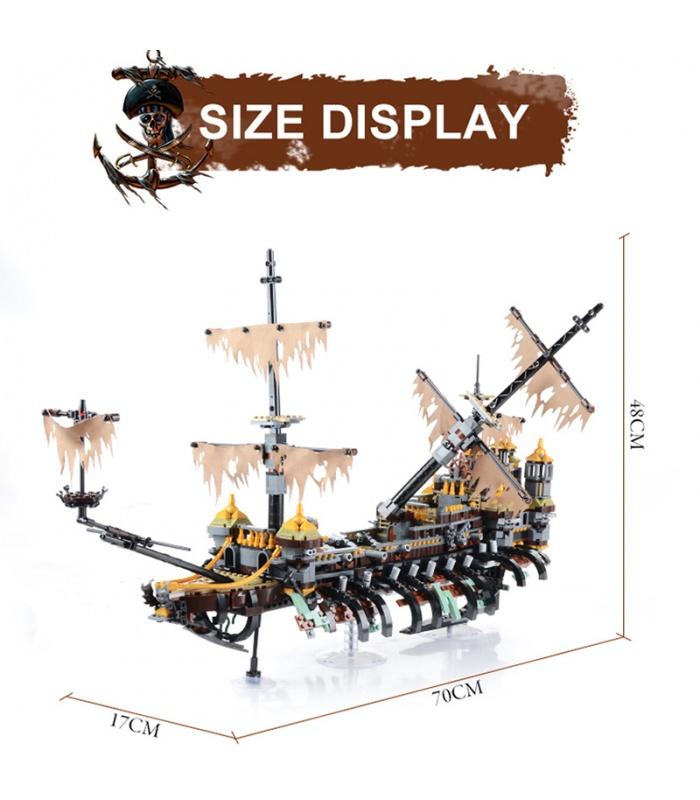 Benutzerdefinierte Fluch der Karibik, Silent Mary Kompatible Bausteine Spielzeug-Set 2344