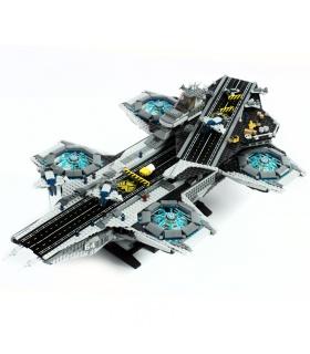 Custom Avengers Das SHIELD Helicarrier-kompatible Baustein-Spielzeugset 3057 Stück