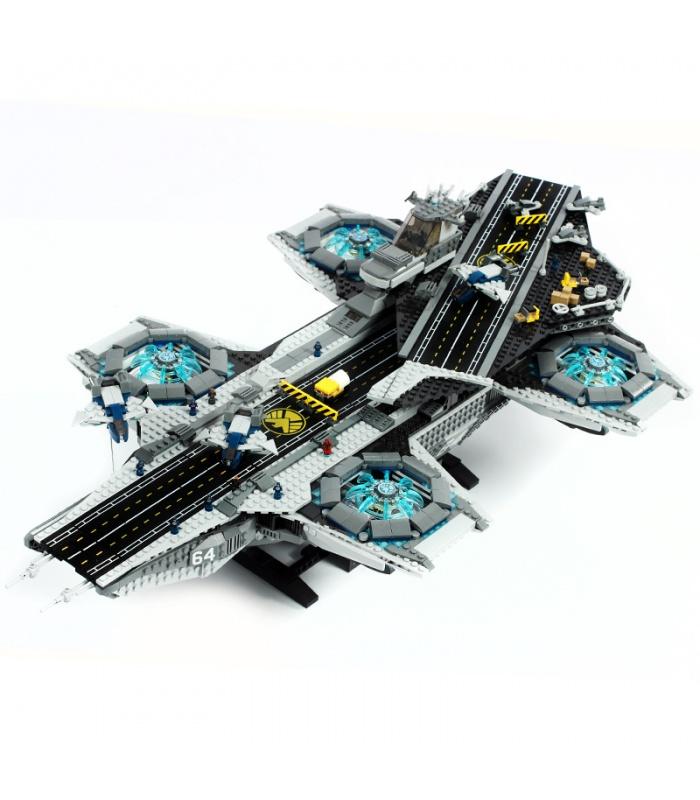 Custom Avengers The SHIELD Helicarrier Compatible Building Bricks Toy Set 3057 Pieces