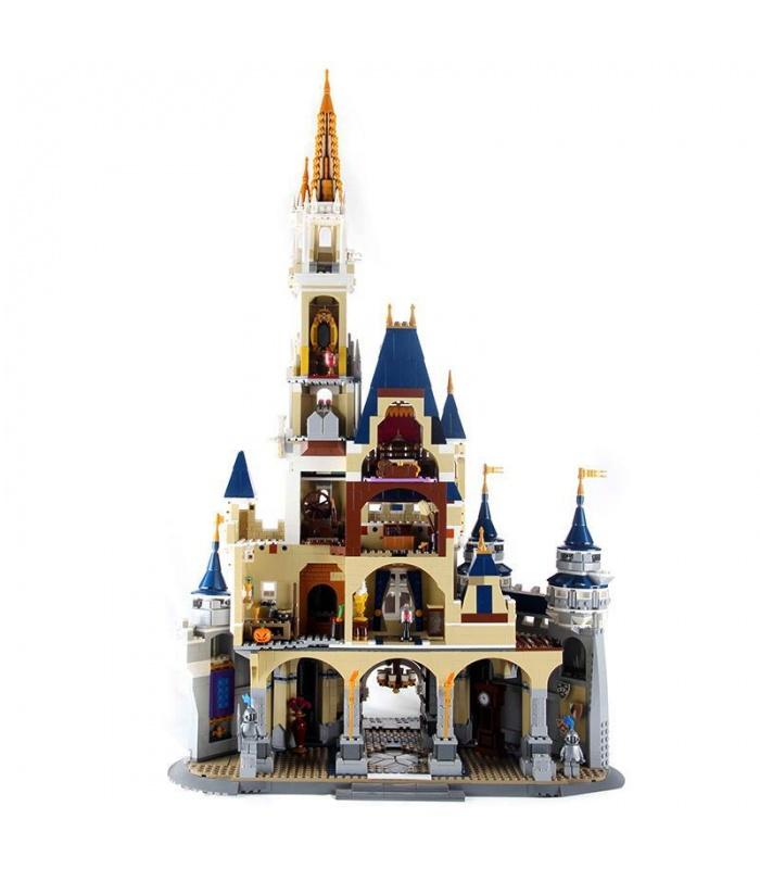 Custom Disney Castle Compatible Building Bricks Toy Set 4160 Pieces