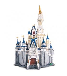 Personalizado Disney Castillo Compatible Edificio De Ladrillos De Juguete Set 4160 Piezas